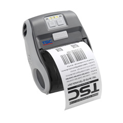 TSC Alpha-3R便携式条码标签打印机,蓝牙无线移动打印机