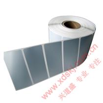 KDS防水抗刮抗高温哑银标签纸,优质亚银纸、哑光银PET电子产品标签